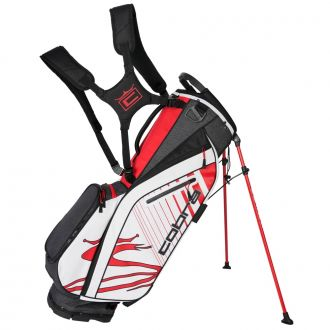 Ultralight Stand Bag - Black / High Risk Red / White