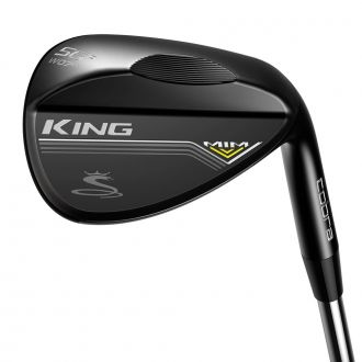 KING MIM Black Wedge