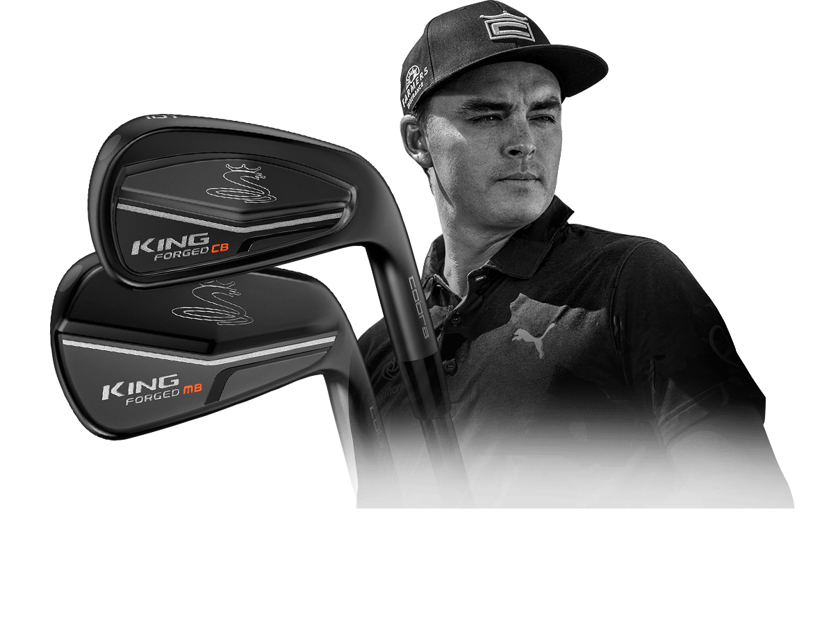 Rickie Fowler's Plays Forged CB/MB Irons