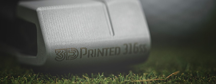 Cobra 3D printed putter toe